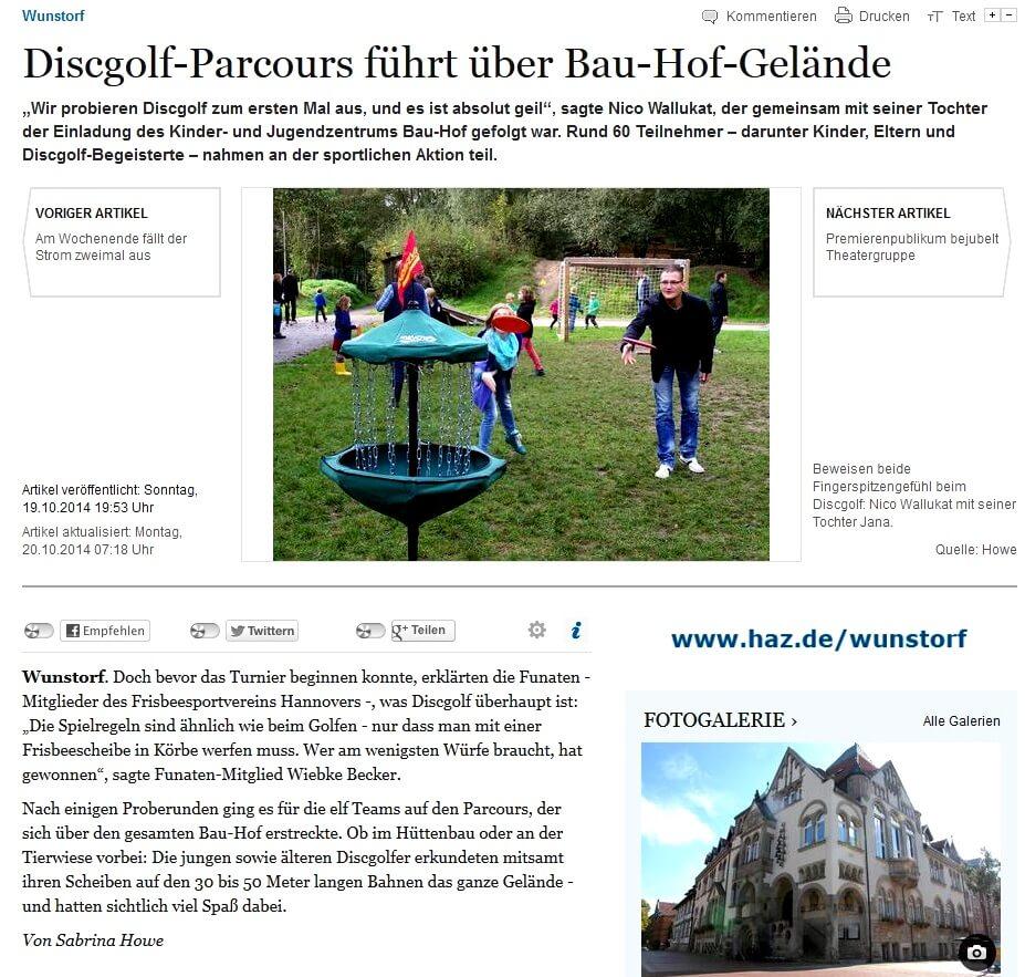 DGT Wunstorf HAZ