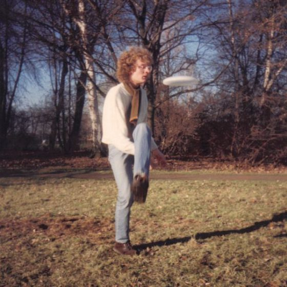 Jens beim Freestyle 1989