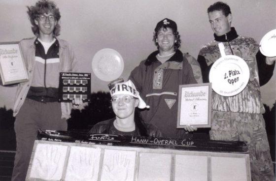 Siegerehrung Overall-DM 1993